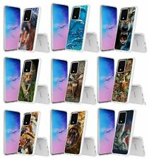 For LG Stylo 5,5+,5x Q720 Horse Dolphins Wolf Deer Fish Bear Animal Case