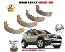FOR DACIA DUSTER 1.2 CE 1.6 1.5 DCI 2012--> NEW REAR HAND BRAKE SHOES SET
