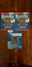 Yamaha R1 Bendix brake pads  - front and rear, 2009 to 2011