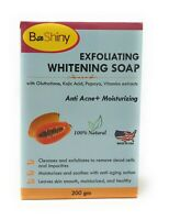 Skin Lightening Brightening Soap with Glutathione Kojic Acid Papaya 200g