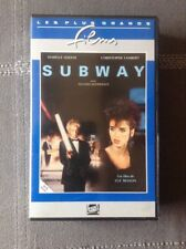 VHS  ~ SUBWAY / LUC BESSON / 1985 / ISABELLE ADJANI, CHRISTOPHE LAMBERT
