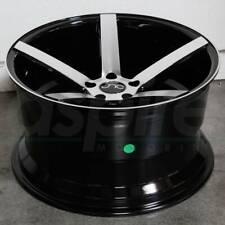 20x9.5 Black Machine Face Wheels JNC 026 JNC026 5x114.3 32 (Set of 4)