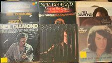 Neil Diamond Lot...10 Lp's 1 Import...Hot August Night 2 is New