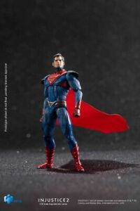 Hiya Toys LD0065 Injustice 2: Superman Variants 1:18 Scale 4 Inch Acton Figure