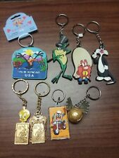 8 Warner Bros. WB Keychains Looney Tunes and Harry Potter