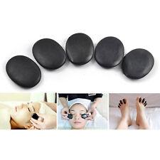7pcs/set Hot Stone Massage Useful Basalt Rocks 3*4cm Size Black New tb