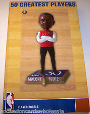 Moses Malone Philadelphia 76ers 50 Greatest Players Bobblehead Limited 1000