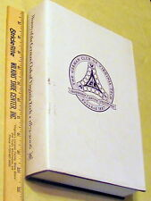 The History Of The German Club Of Virginia Tech, 2006 limited publication, rare