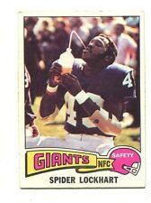 1975 Topps #227 Spider Lockhart New York Giants