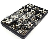 80 ASSORTED PIECE A4 STAINLESS STEEL WING NUTS M3 M4 M5 M6 M8 BUTTERFLY KIT