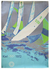 Sailing Poster From the 1972 Summer Olympic Games