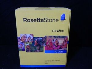 ROSETTA STONE SPANISH ESPANOL (LATIN AMERICA) LEVEL ONE