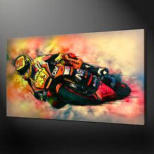 MOTOGP TEAM SUZUKI ALEIX ESPARGARO CANVAS WALL ART PICTURE PRINT