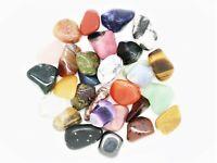 20 tumbled stones (12-20mm) polished crystal tumblestones gemstone