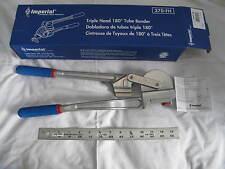 1 New Imperial 370 Fh Triple Head 180 Tube Bender 14 316 38 12