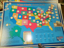 State Quarter Map In Us State Quarters 1999 2008 For Sale Ebay - Us-map-for-quarters
