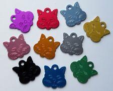 Médaille CHAT gravée  chat - 10 couleurs GM