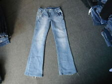 "Joe Browns Bootcut Jeans Size 8L Leg 31"" Faded Medium Blue Ladies Jeans"