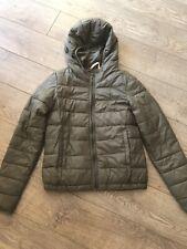 PULL & BEAR khaki Light Puffer Jacket . Small