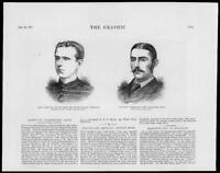1879 - Antique Print PORTRAITS Herbert Arthur Reed Louis Byrne      (076)