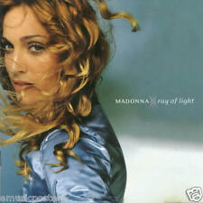 """Madonna """"Ray Of Light"""" U.S. Promo Poster From 1998 - Album Cover Artwork"""