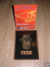 Aerosmith Millenium Japanese Tourbook Programme, Display & Flyer Lot 2000
