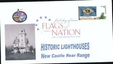 Flags of our Nation - Delaware (Sc. 4282) New Castle Rear Range Lighthouse