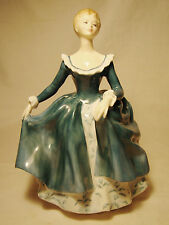Royal Doulton Porcelain Figurine Janine HN2461 1971 China Figure Retired 1995