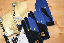 E-Force Eforce E Force Racquetball Gloves Chill Blue Color 3-Glove Right Medium