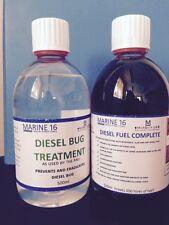 Marine 16 Diesel Bug Treatment & Diesel Fuel Complete 500 ml Twin Pack