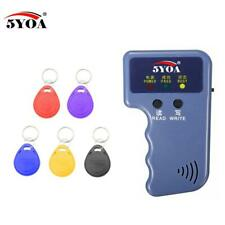 5YOA Handheld RFID Duplicator 125KHz Copier Reader Writer Tag Key Card Cloner