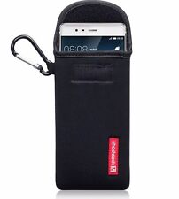 Genuine Shocksock Durable Padded Neoprene Carabiner Pouch Sony Xperia M4