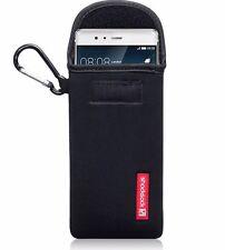 Genuine Shocksock Durable Padded Neoprene Carabiner Pouch Huawei P9 PLUS