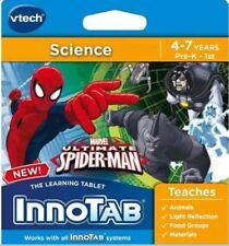 Vtech Innotab- Science- Marvel Ultimate Spiderman- 4-7 yrs/PreK-1st  Lot# EB4