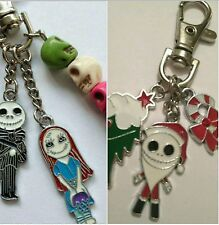 Nightmare Before Christmas keyring OR Jack Skelleton and Sally Keyring ONE ONLY