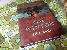 tim winton dirt music true  1st signed unread book hc