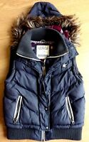 SOULCAL & CO Ladies Winter Sleeveless Body Warmer Jacket Detachable Hood UK 12