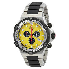 Swiss Military Conger Chronograph Yellow Dial Mens Watch 2218