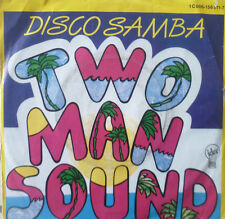 "7"" 1977 RI 1986 ! TWO MAN SOUND : Disco Samba /MINT-?"