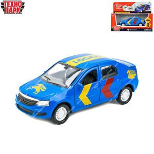 Tehnopark Diecast Vehicles Sport Renault Logan Russian Toy Cars 12 cm