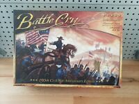 Battle Cry 150th Anniversary Civil War Edition Board Game 1/2 Sealed UNPUNCHED