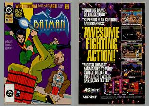 BATMAN ADVENTURES #14 RARE DC BULLET LOGO VARIANT ISSUED ONE MONTH PRE DCU LOGO
