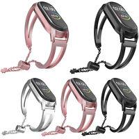 Ersatz-Armband Uhrenarmbänder Band Strap Edelstahl Für Xiaomi Mi Band 4 3 Uhr