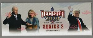 2020 Leaf Decision 2020 Series 2 Factory Sealed Hobby Box - In Hand - Ships Free