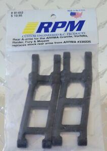 RPM Rear A-arms ARRMA Granite/Vorteks/Raider/Fury/Mojave RPM81452