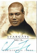 Stargate SG-1 Season 10 Autograph Card Christopher Judge as Teal'c