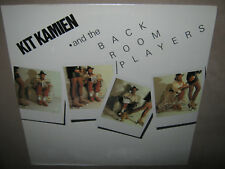 KIT KAMIEN and The Back Room Players RARE SEALED New Vinyl LP 1980 NR16197-1
