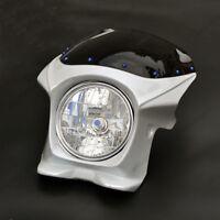 Bracket+Upper Fairing Cowl+Headlight+Windscreen Kit Fit For Honda CB1300 CB400