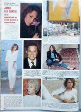 JAMIE LEE CURTIS => 1 page 1980  Spanish CLIPPING !! COUPURE DE PRESSE ESPAGNOLE