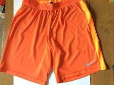 "Huelga de fútbol Nike aeroswift/Pantalones Cortos de Entrenamiento Dri Fit Size Large (9"""